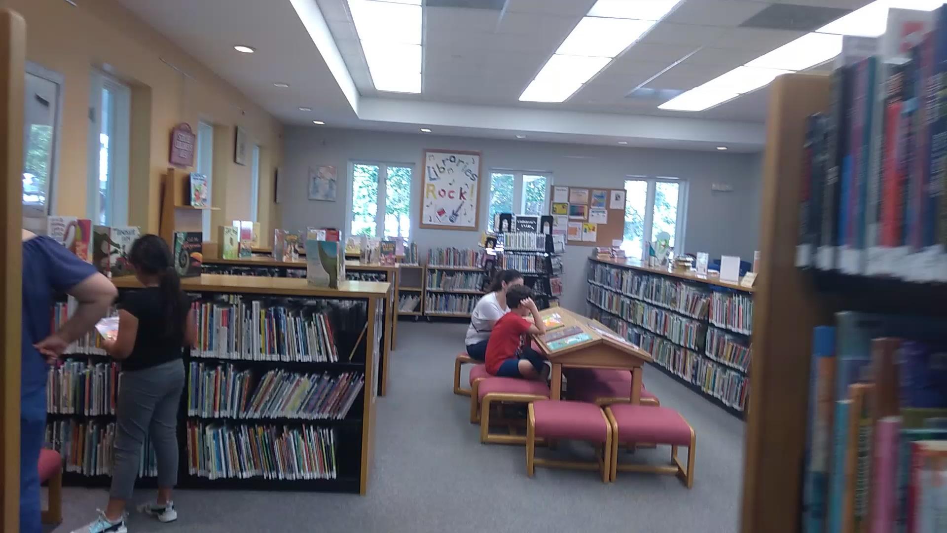 Biblioteca Publica em Windermere